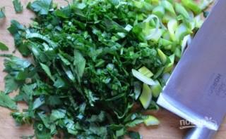 Суп сырный с креветками - фото шаг 8