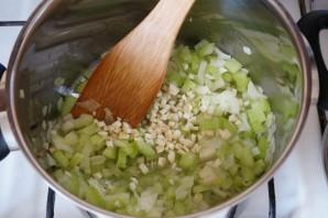 Томатный суп с рыбой - фото шаг 7