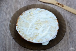 Нежный и вкусный тортик на кефире - фото шаг 11