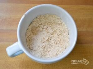 Пирог в чашке в микроволновке - фото шаг 3