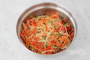 Рыба в духовке с овощами - фото шаг 4