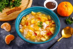 Фруктовый суп с рисом - фото шаг 7