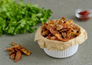 Чипсы из картофельных очисток - фото шаг 6