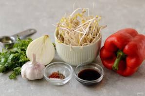 Корейский салат из маша - фото шаг 1