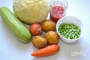 Овощное рагу как в детском саду - фото шаг 1