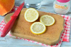 Компот из тыквы с лимоном
