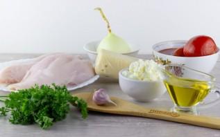 Филе куриной грудки под сливочно-томатным соусом - фото шаг 1