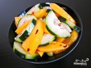 Салат с манго - фото шаг 6