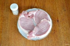 Стейк из свинины на мангале - фото шаг 2