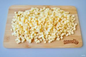 Куриные колбаски с сыром для гриля - фото шаг 4