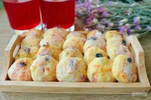 Творожное печенье с изюмом - фото шаг 8