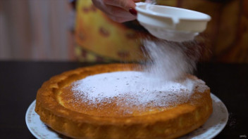 Апельсиновый пирог с цедрой - фото шаг 12