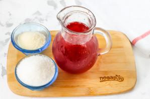 Желе из вишневого сока - фото шаг 1