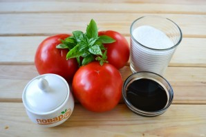 Варенье из помидоров с базиликом - фото шаг 1