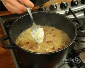 Суп с квашеной капустой - фото шаг 6