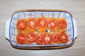 Горбуша с помидорами и сыром в духовке - фото шаг 9