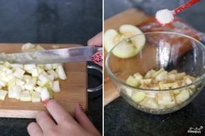 Слойки с яблоками - фото шаг 2