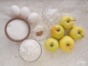 Классический пирог с яблоками - фото шаг 1
