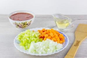 Суп с булгуром и чечевицей - фото шаг 3