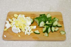 Салат из гусиной печени - фото шаг 3
