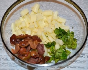 Помидоры, жареные с сыром в кляре - фото шаг 3