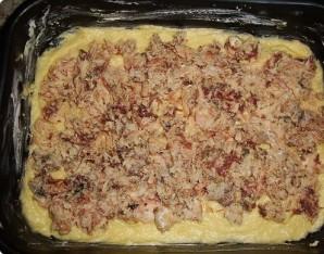 Пирог с рыбными консервами - фото шаг 8
