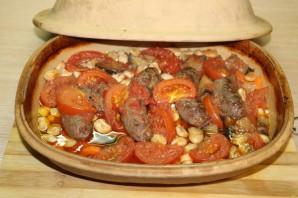 Фасоль с колбасками - фото шаг 11