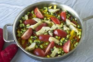 Паэлья вегетарианская - фото шаг 7