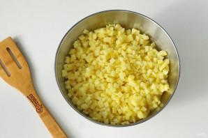 Постные манты с картошкой - фото шаг 5