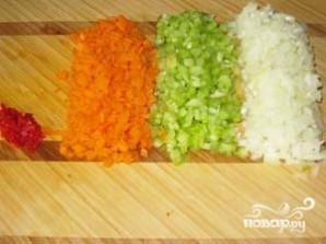 Суп из чечевицы с сельдереем - фото шаг 2