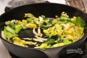 Лапша с говядиной и китайской капустой - фото шаг 5