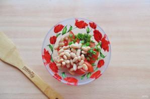 Салат с фасолью и яблоками - фото шаг 5