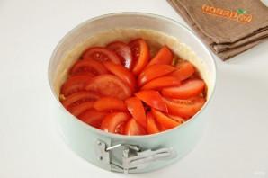 Французский пирог с кукурузой и помидорами - фото шаг 8