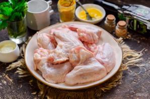 Куриные крылышки с соусом - фото шаг 1