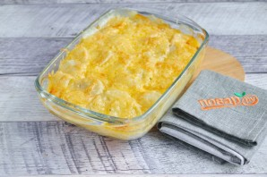 Запеченная картошка с сыром чеддер - фото шаг 7