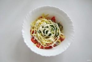 Салат с помидорами и баклажанами - фото шаг 9