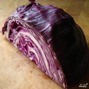 Салат из синей капусты - фото шаг 1