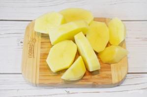Запеченный карп с ароматным картофелем - фото шаг 3