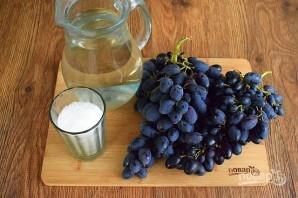 Виноград в банке - фото шаг 1