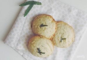 Миндальное печенье с лавандой - фото шаг 5