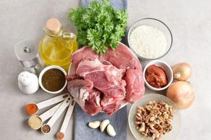 Харчо из говядины с ткемали - фото шаг 1