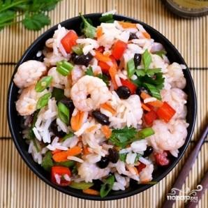 Салат с рисом и креветками - фото шаг 10