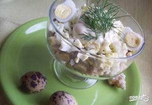 Кальмаровый салат с огурцом - фото шаг 5