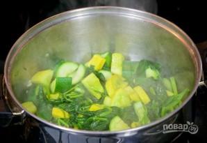 Суп-пюре со шпинатом - фото шаг 4