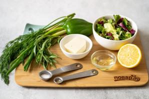 Салат с тархуном - фото шаг 1