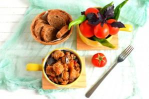 Рагу из свинины с баклажанами - фото шаг 5