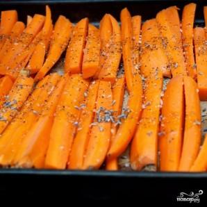 Запеченная морковь - фото шаг 3