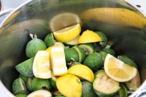 Варенье из фейхоа с лимоном - фото шаг 1