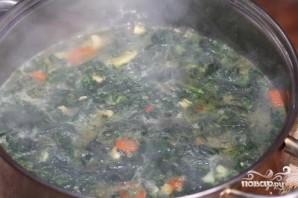 Суп из крапивы с брынзой - фото шаг 3
