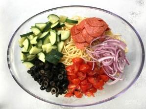 Салат из спагетти - фото шаг 2